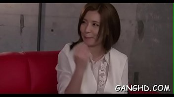 babe her fucked japanese to neighbor Shemale makes guy suck her dick