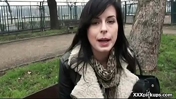 dick doggystyle brunette facial gang amateur big Down blouse fucked