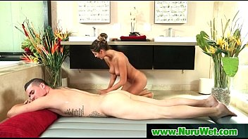 gives and stud oralsex wet beauty cowgirl a Deep throats punishment by organisms