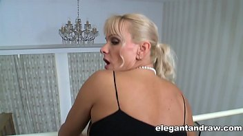mom blonde cock anal a black big Silvie cumming hard on her living room carpet