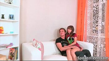 brunette with time teen gets slut afternoon fun boyfriend Amazing blonde daughter hired by not her fatherr