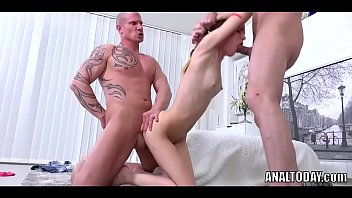skinny vdv cumeating anal euroslut Skinny black girl takes a big dick