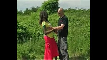 doggystyle ebony afro young curly Straight video 7528