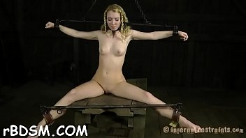 self mistress instructions cbt torture Superb hot teen fingering and toying pussy on chair