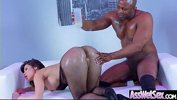 butt compilation oiled Spanked and fingered by femdom