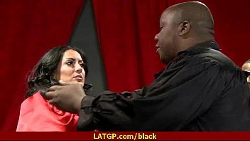 by slutty housewife her living banged in gets room black hunk Stacie starr anal