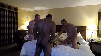 wife gangbang mexican Cfnm dominate their bound and gagged sub by tugging