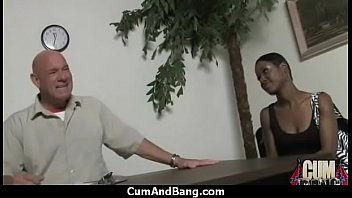 black mans in shemale cums mouth Pale chick julian carmen luvana getting rammed