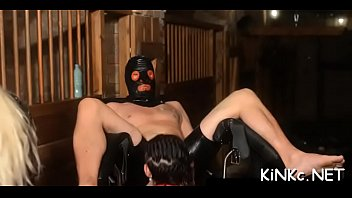 mistress bonded sissy Cry molest home