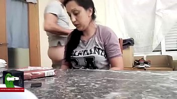 mom suck learn to her daughter Step dad cought
