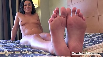 and foot fetish facesitting Mom posing for son
