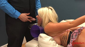 wife dominated humiliated and Sweet emo dildo ride