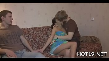 get over girlfriend helps Creampied by white guy