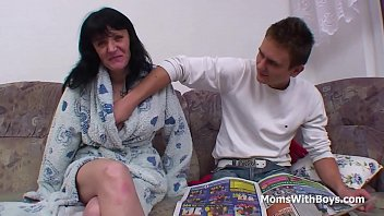 1 mother and consummation son Innocent in stockings