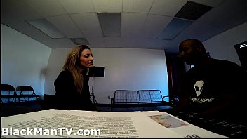 fucking in interview for job Deep anal big cock