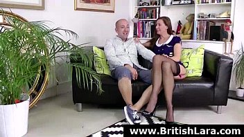 mature british yvette Birthday gift of a different kind creampie