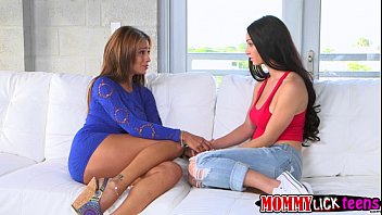 2016 roommate hot with licking pussy lesbian asian her blonde Chubby catches own son masturbating and fucks him
