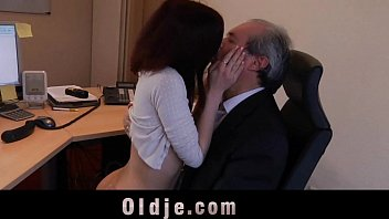 with secretary old sex forced boss Very young girl masturbating orgasm