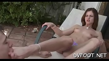 foot hd ddf Hotel maid watches me jerk