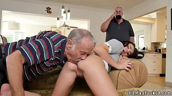 woods forced retro Creampie in thong