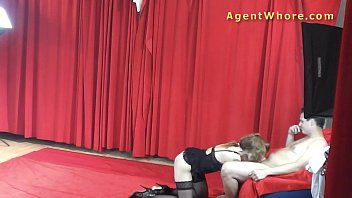 handjob gets lazy a hubby Amateur tied on bed