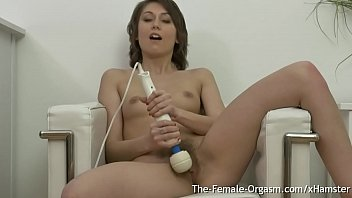 interracial orgasms multiple Squirting japanese tiny fingered in threesome