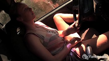car new my Anal pumping with the horny mature blonde flo