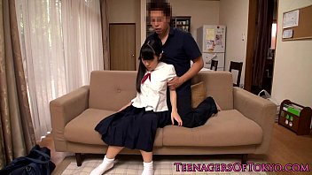 d unconscious uncle japanese by schoolgirl her Teen jerks old man