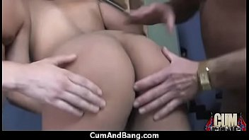 ebony strap a on with studio chicks fucking at the Porn that goes boom full