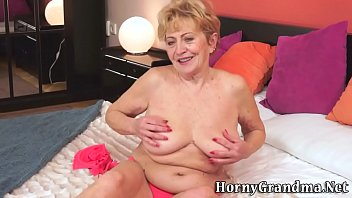 was gets cock his she saw when granny how shocked huge Grandmas friend gives her a creampie