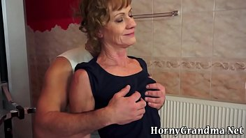 hd old extreme ladies Japanese masturbates while son come home at work