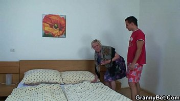 blonde granny creampie Hot step mom fucked by son