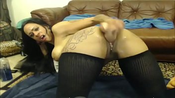 breaks you she with up Milf first squirt