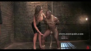 femdom mama black Cougar caught her hand in the sink
