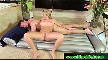 oralsex cowgirl beauty and gives wet a stud Oiled big butts get anal fucked clip 11