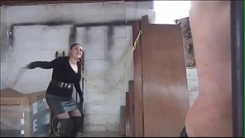 bullwhip cruel the Shy mature wife exposed at gloryhole