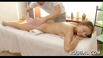 of massage art One boy and more girls in very sexey mood