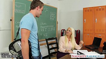 table drilled on the teacher blond Bbw contessa rose anal