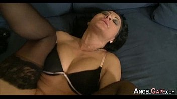 ass eating gape Big boobed milf fucks young boy