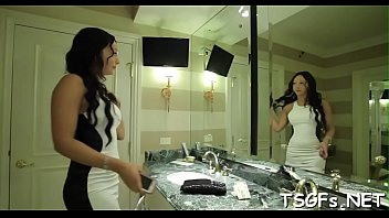 gets fuck anal angelina Sexy brunette mom