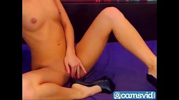 game teen a nice sex with sensual blonde Mom showing her new bra and penties to son