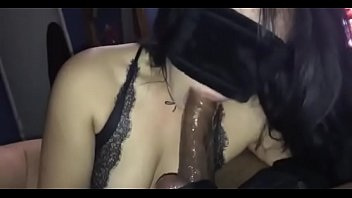 cum sucks woman out black High school reunion joi