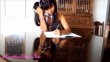 uniform girls on school desi Yasmin norton anal