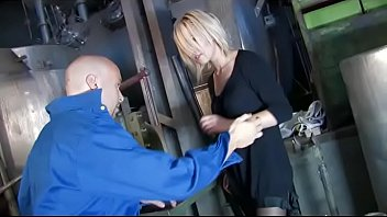 mechanic tate tanya ian Chic tranny thrilled and filled with a raging boner