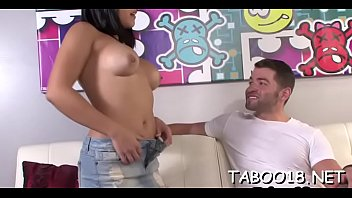 small teen take bbc Boy and little