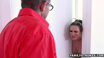 her catches a giving mother blowjob12 daughter dad Naughty newbie part 7