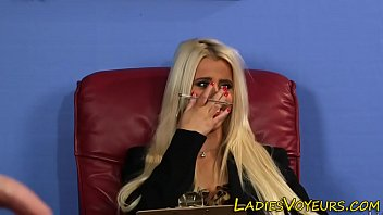 rusia gf sex Blonde female agent fucked by shy dude on casting