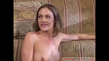 husband front wife teases in of cock Esta interracial gangbang