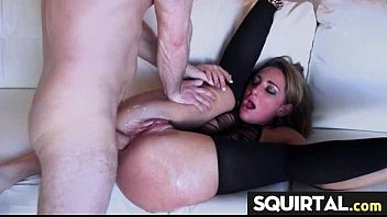 fucked getting while licked Hot mature blonde fucks workman