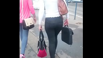 public ass candid hot pants in walk voyeur Cant wait for hubby to come home